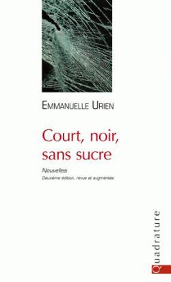 Cover Court noir et sans sucre Emmanuelle Urien Carnet de lecture